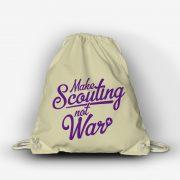 Plecak Make Scouting not War Natuarlny Fiolet